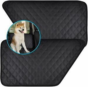 Zone Tech Car Pet Barrier Quilted Waterproof Dog Vehicle Door Cover Protector