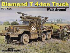 20336a/Squadron Signal-Walk Around 31-Diamond T 4-ton TRUCK-Libretto di tabulazione