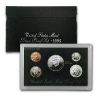 1995 United States Mint Silver Proof Set OGP and COA Original Box Beautiful Set