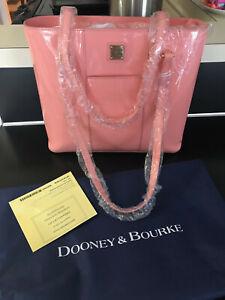Dooney & Bourke Pale Pink Patent Leather Lexington Shopper NWT & Dust Bag