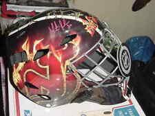 MARTIN BRODEUR signed full size hockey HELMET mask new jersey devils STEINER coa