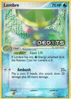 1x Lombre - 33/107 - Uncommon - Reverse Holo EX Deoxys Pokemon Near Mint