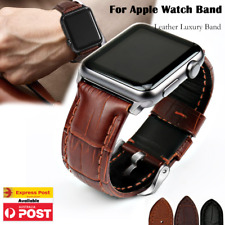 Genuine Leather For Apple Watch Band iWatch Strap Series 6 5 4 3 2 38 40 42 44mm