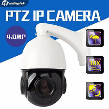 4 Inch Mini Size 4MP IP PTZ Dome Camera ONVIF 30X Zoom (FREE U.S. SHIPPING)