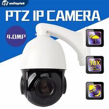 4 Inch Mini Size 4MP IP PTZ Dome Camera ONVIF 30X Zoom (FREE U.S. SHIPPING)