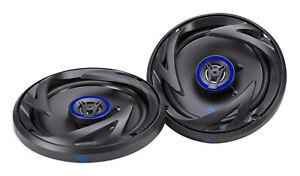 "Pair AUTOTEK ATS65CXS 6.5"" Shallow Mount 600w 2-Way Coaxial Car Audio Speakers"