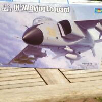Trumpeter 01664 1:72 Bausatz Flugzeug PLA JH7A Flying Leopard mit Ätzteilen