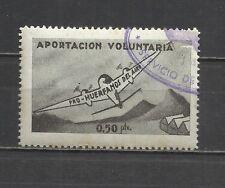 2713 -SELLO FISCAL DE AVIACION HUERFANOS DEL EJERCITO DEL AIRE 0,50 PESETAS,APOR