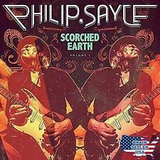 PHILIP SAYCE - SCORCHED EARTH USED - VERY GOOD CD