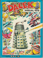 RARE: Dalek Annual 1978. Unclipped, VGC! Doctor Who. % to charity do!