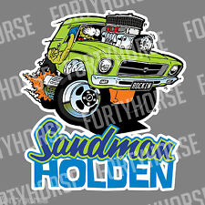 Holden Stickers - HQ Sandman
