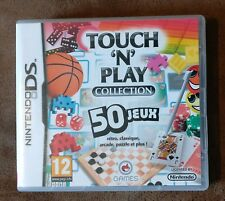Jeu NINTENDO DS TOUCH 'N' PLAY COLLECTION 50 jeux (complet)