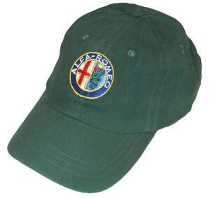 ALFA ROMEO embroidered hat - green body