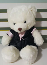 CAPTAIN MORGAN TEDDY BEAR PLUSH TOY SOFT TOY ABOUT 30CM TALL BLACK PINK TUX!