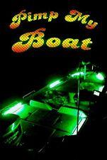 PIMP MY Boat (Green) LED Lighting Kit DIY with Red & Green Navigation lights