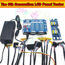 TV Laptop LCD/LED Display Test Tool Panel Screen Tester+ LVDS Cables + Inverter