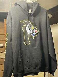 GILDAN NHL Men's  Pittsburgh Penguins Hoodie Sweatshirt Size XL Black