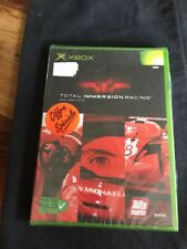 Xbox 1er Génération Total Immersion Racing/fr /Neuf /New And Sealed