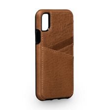 Case SENA Bence Lugano WALLET Leather for APPLE iPhone X - Saddle Brown