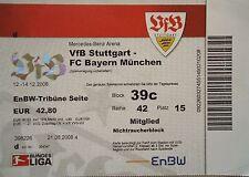 TICKET 2008/09 VfB Stuttgart - Bayern München