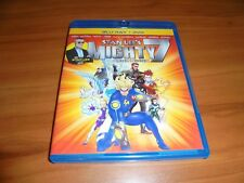 Stan Lee's Mighty 7: Beginnings (Blu-ray Disc, 2014, 2-Disc) Used Marvel