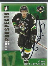 Kyle Chipchura Signed 2004/05 Heroes and Prospects Card #87