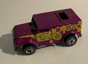 HOT WHEELS RedLine Flying Colors FUNNY MONEY 1970 Plum Mattel Diecast EXCELLENT!