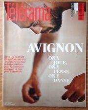 télérama 3260 Avignon 2012 Castellucci Loos Minitel Herodote Saint Etienne