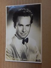 Film Star postcard Griffith Jones As Charlie Kent  Real Photo unposted