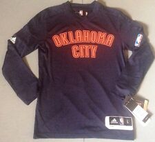 NBA Oklahoma City Thunder Youth Adidas Climalite Shooters Warm Up Jersey Ret $55
