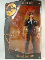 """🦖 Dr. Ian Malcolm - Jurassic Park Amber Collection Action Figure 6"""" - Mattel 🦖"""