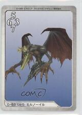 1999 Final Fantasy VII - Triple Triad Card Game Base #G-53 Elnoyle Gaming 0c6
