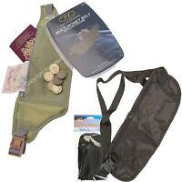 Money Travel Belt Selection Bum Bag Passport Money Wallet Buckle Hide Value NEW