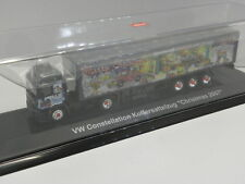Schuco 22302 sammelmodell VW CONSTELLATION Valise semi-remorque Christmas 2007 M .1: 87