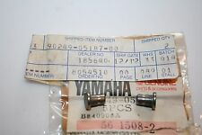 2 NOS Yamaha snowmobile deep snow block off pin srv ss440 xlv pz480 90249-05187