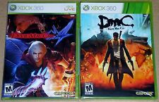 XBox 360 Game Lot - Devil May Cry 4 (New) DmC Devil May Cry (New)