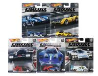 Hot Wheels 50th Anniversary 1:64 Car Culture Circuit Legends Series Set of 5 Car