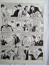 MARC AIRAIN TRES BELLE PLANCHE ORIGINALE MYSTIC ARTIMA ANNEES 1950 page FIN