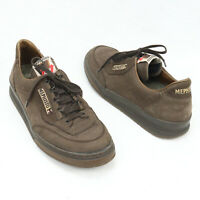Mephisto Brown Comfort Sneakers Men's Size 9.5 US Leather Suede Shoes