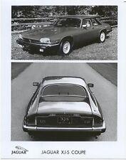 Jaguar XJS Coupe USA Spec twin view original b/w Press Photo