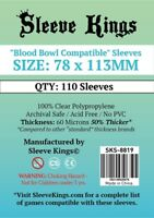Sleeve Kings Blood Bowl Compatible Sleeves (78x113mm) -110 Pack -SKS-8819