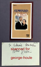 WARIS HUSSEIN - AUTOGRAPH - BRITAIN-INDIA - DOCTOR WHO - A PASSAGE TO INDIA