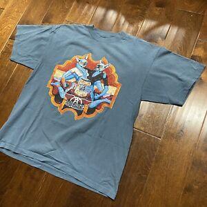Vintage 1997 Aerosmith Nine Lives World Tour Concert T Shirt Size XL