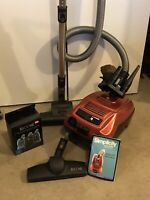 Simplicity Wonder Canister Vacuum w/ Attachments and Bags