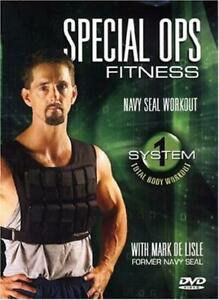 Special Ops Fitness - Navy SEAL Workout, System 1 - DVD -  Very Good - Lisle, Ma