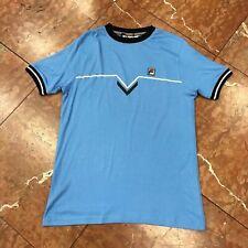 Men's Fila Lt.Blue Short Sleeve Tee Shirt.