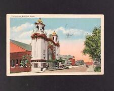 c1920 Boston Postcard Arena Original Home Of Bruins NHL Hockey Team Post Card