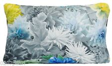 Designers Guild Fabric Cushion Cover Blue Printed Floral Pillow Case Mariedal