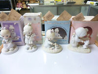 PRECIOUS MOMENTS MEMBERS ONLY COLLECTIBLES - Lot of 4