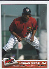 Jordan Cheatham Chicago White Sox 2009 Great Falls Voyagers Card